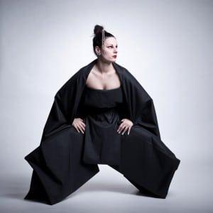 Sumo fashion im Fotostudio