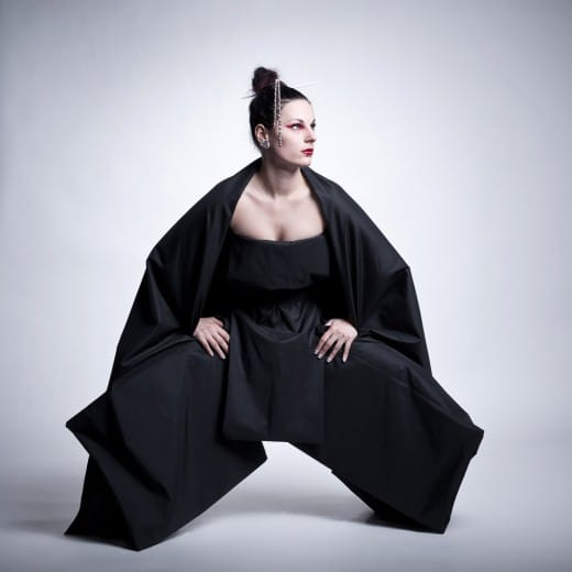 Sumo fashion im Fotostudio