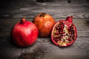 Stillleben mit Granatäpfeln