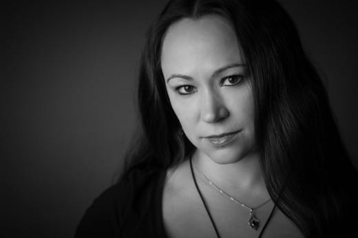 klassisches schwarz-weiß-Portrait im Fotostudio