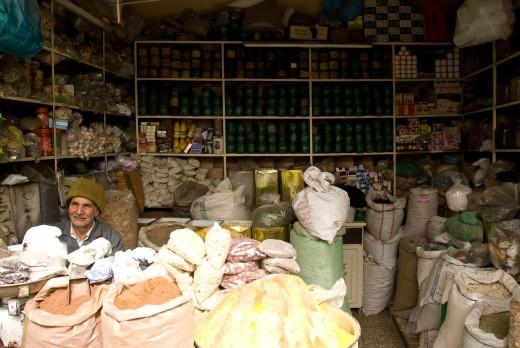 Geschäft im Iran