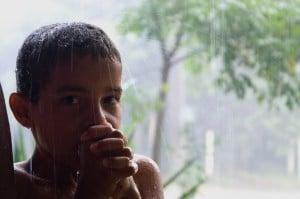 Junge in Brasilien