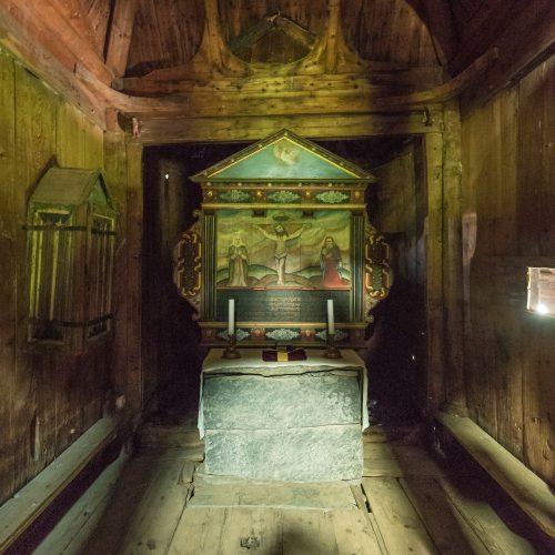 Altar der Stabkirche