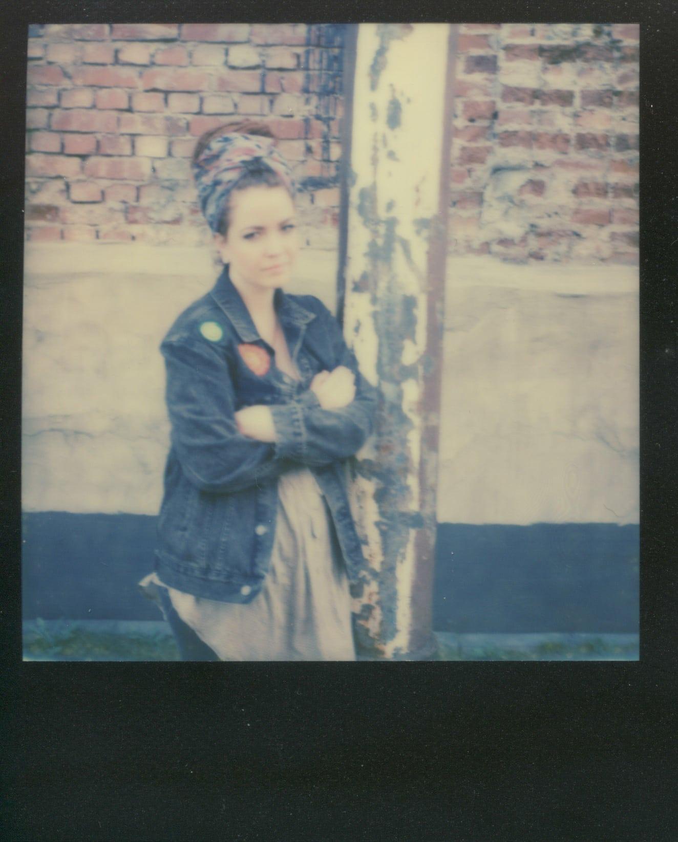 Anna in Polaroid I