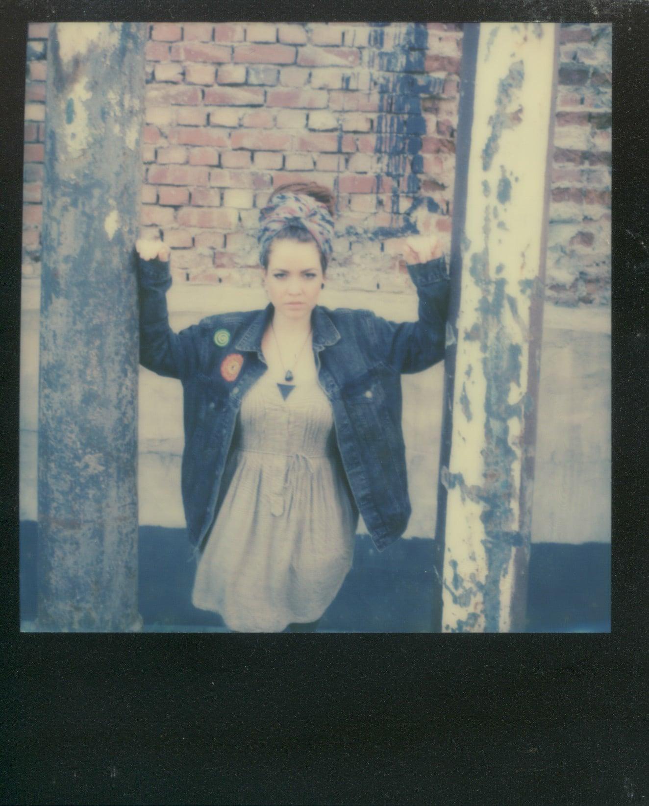 Anna in Polaroid II