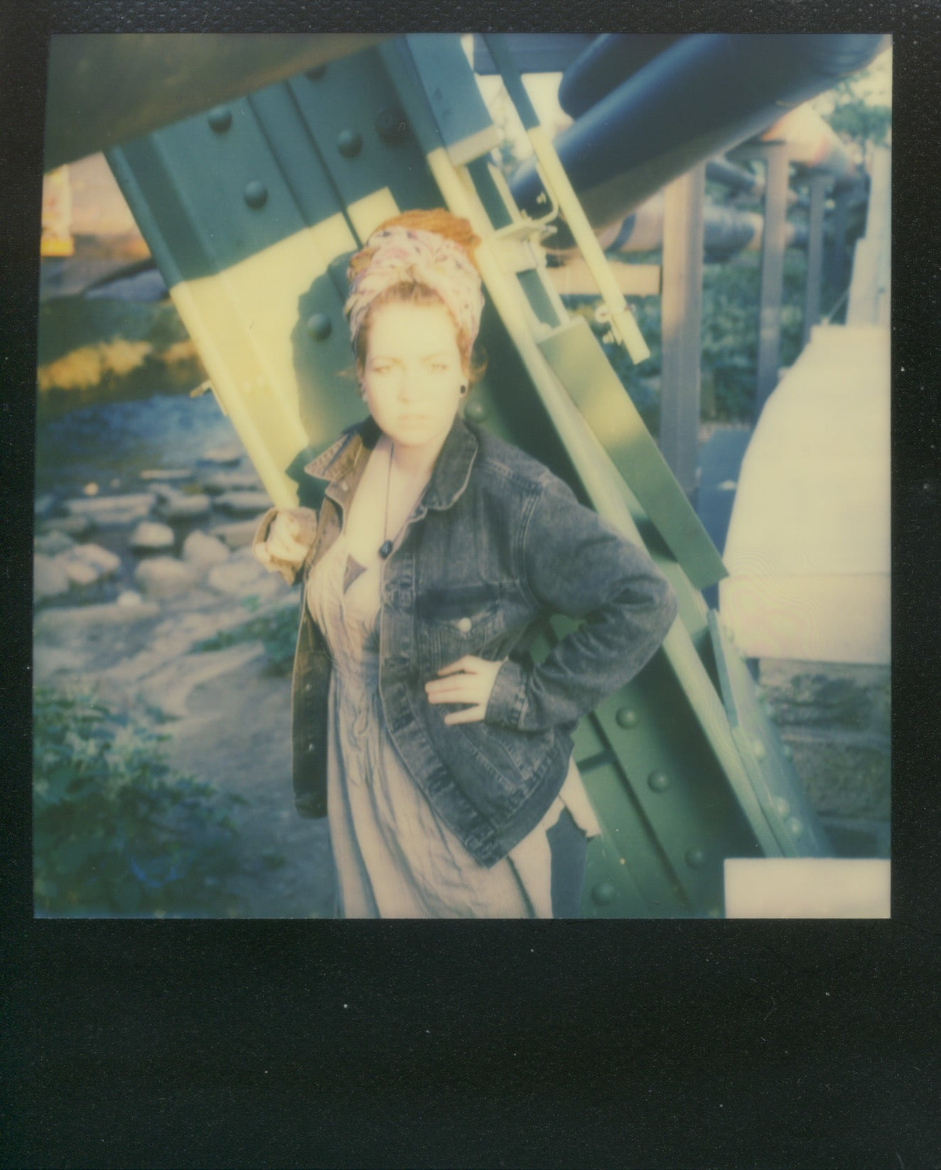 Anna in Polaroid III