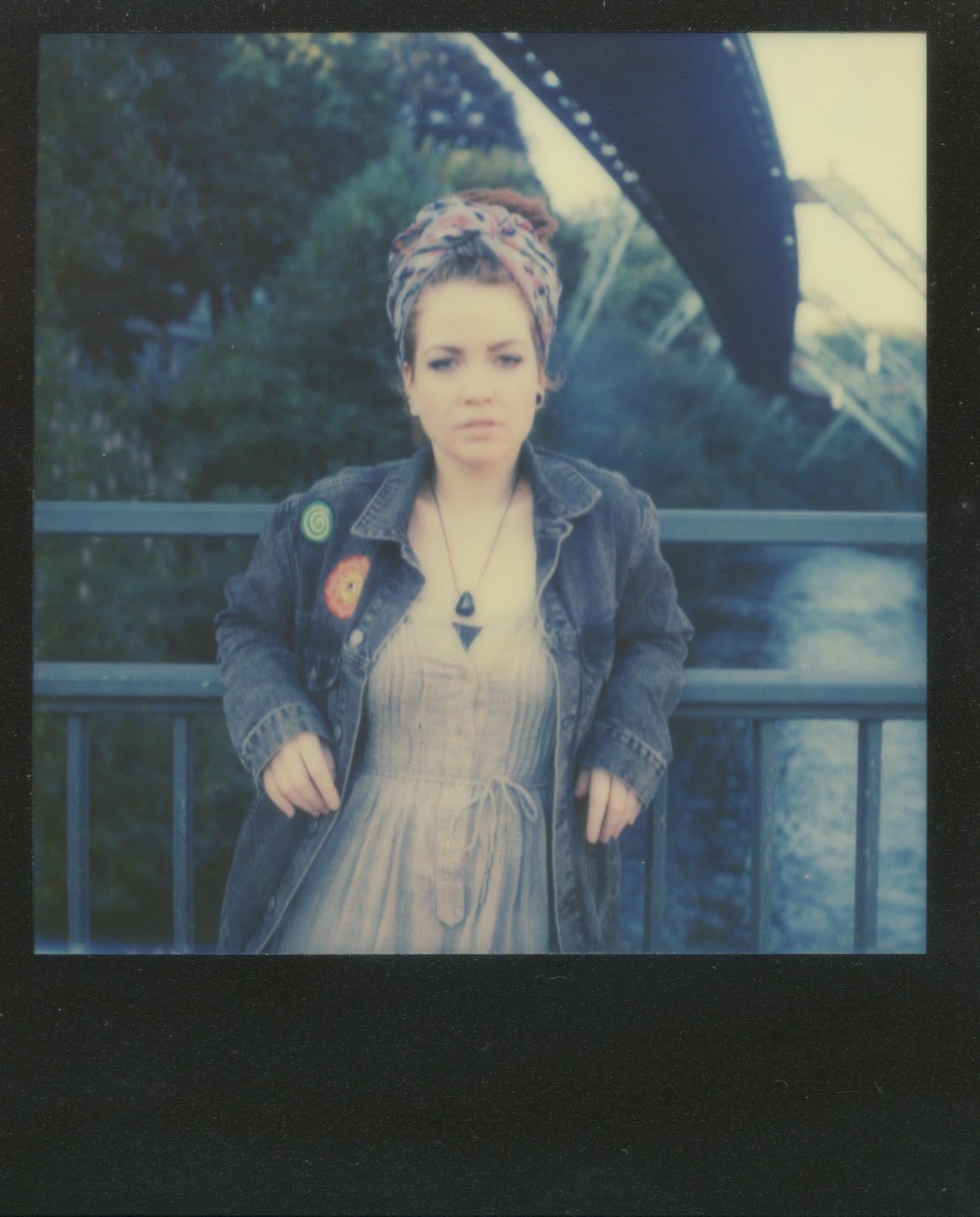 Anna in Polaroid V