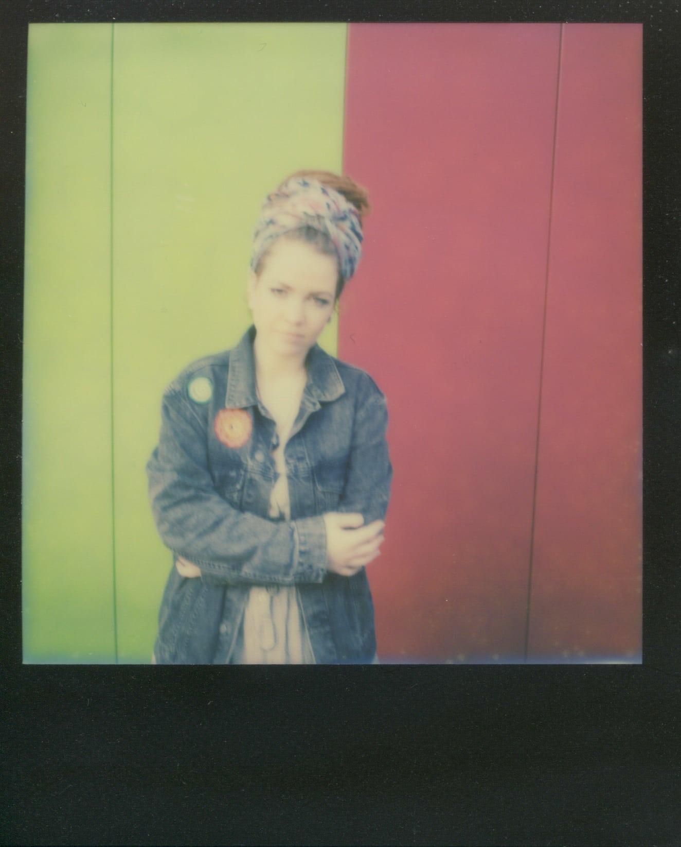 Anna in Polaroid VI
