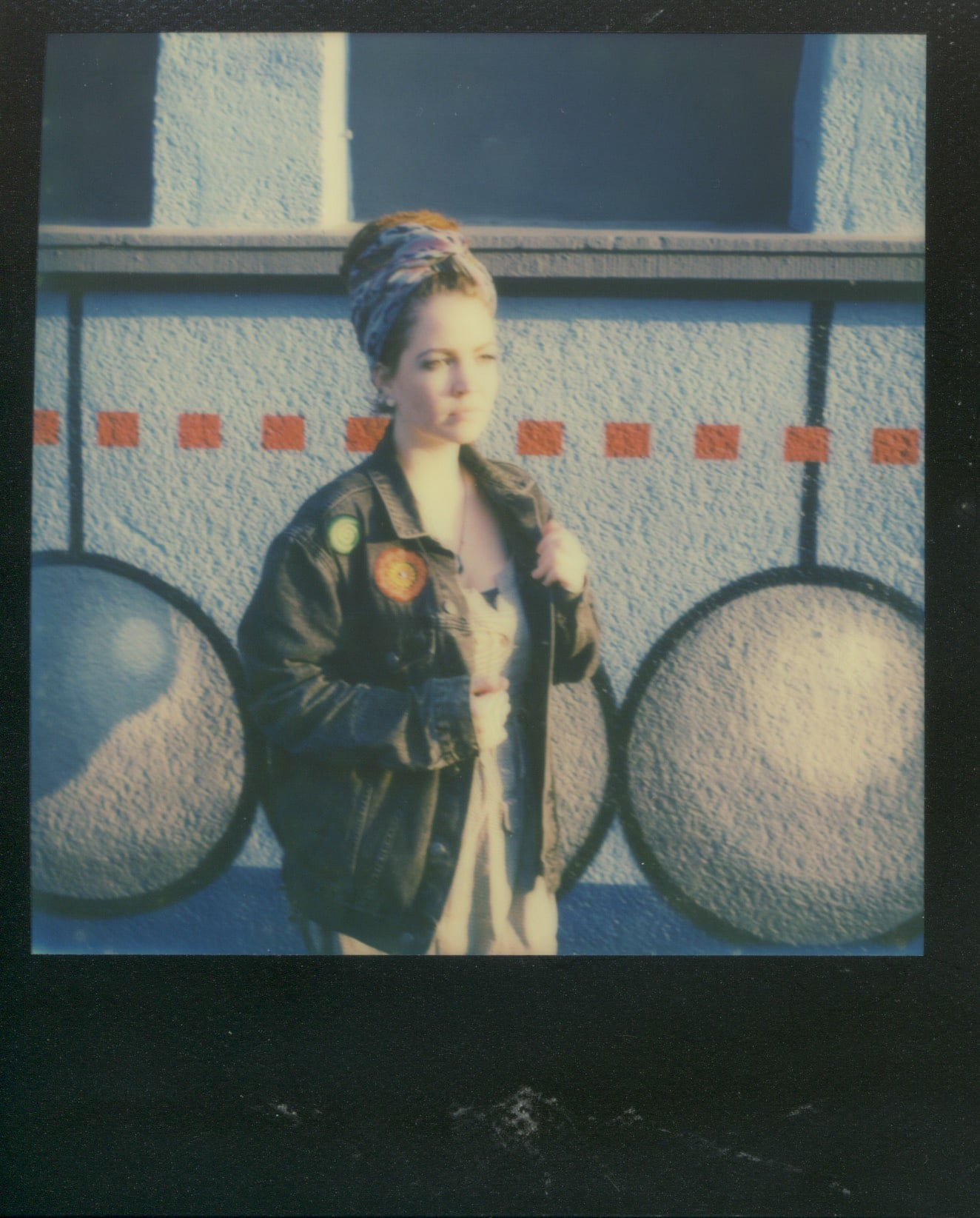 Anna in Polaroid VII