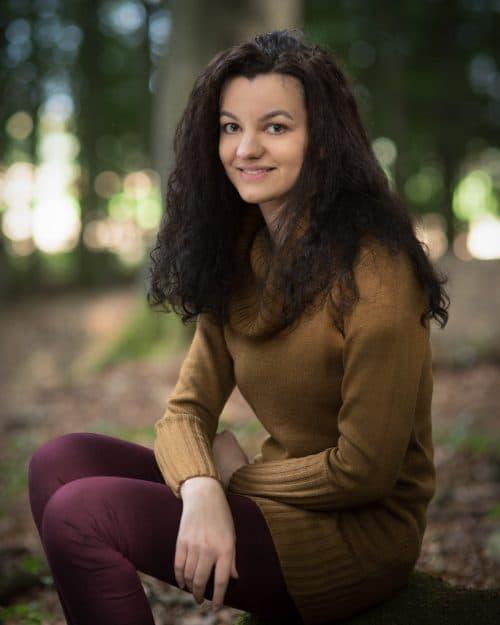 Portrait-Fotoshooting im Wald