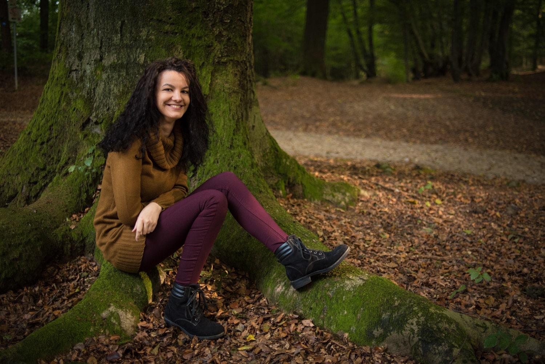 Sabrina im Wald V