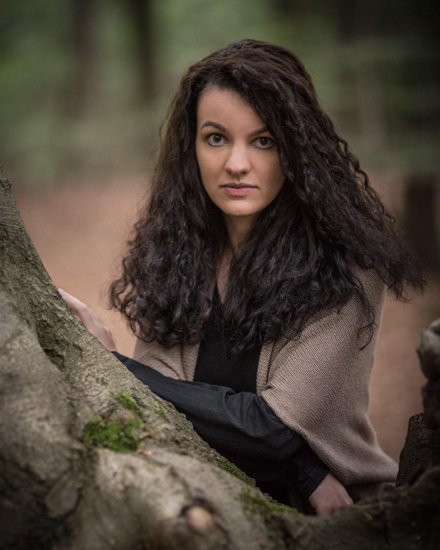 Sabrina im Wald