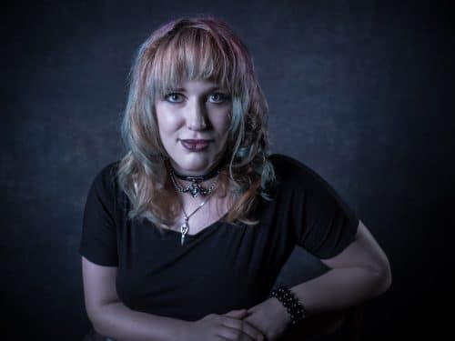Portrait einer Frau im Studio
