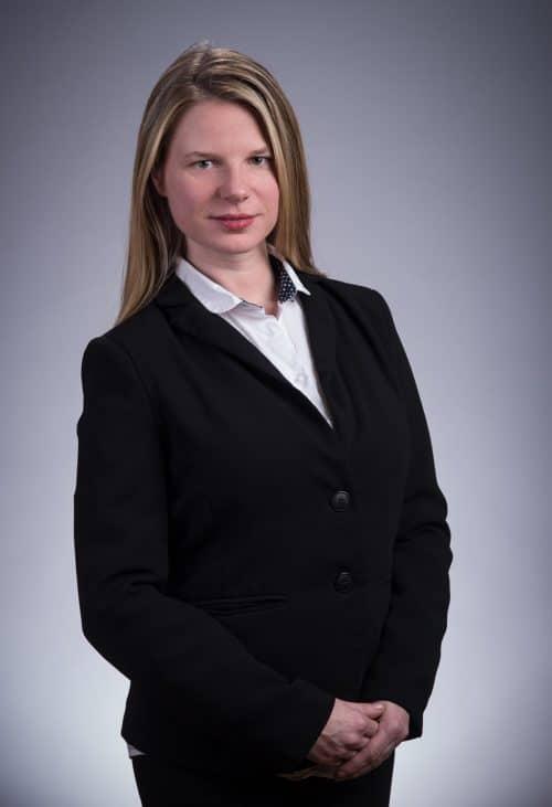 Beispiel eines Profilbildes im Fotostudio