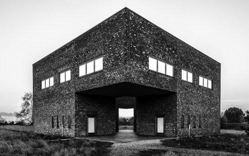Architekturfotografie auf der Raketenstation Hombroich
