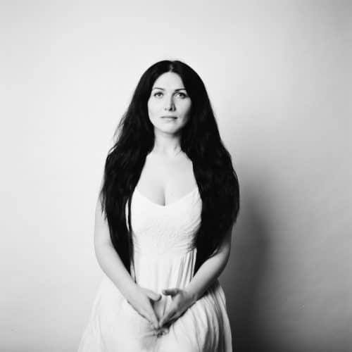 Portrait mit analogem Mittelformat in schwarzweiss