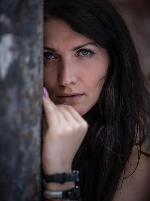 Portrait von Frau