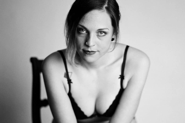 Analoge Portraits einer Frau