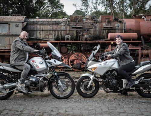 Motorradshooting mit Tine und Tom