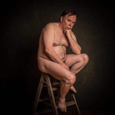 Aktfotografie-Mann, Männerakt