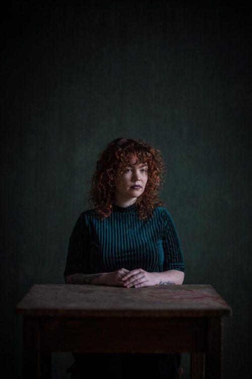 Fensterlich Portrait im Studio