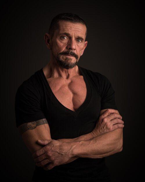Fotoshooting male model Steve