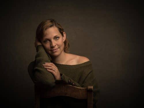Portrait Fotoshooting im Fotostudio