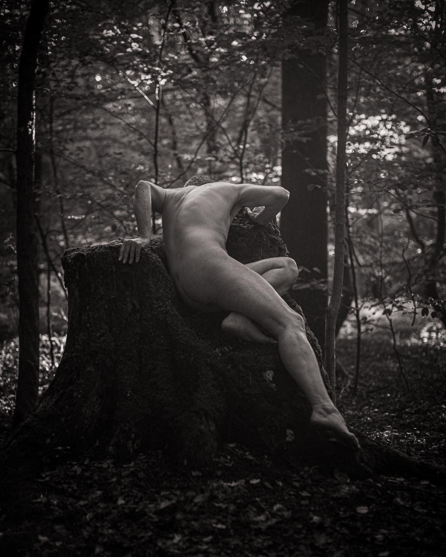 Aktshooting im Wald